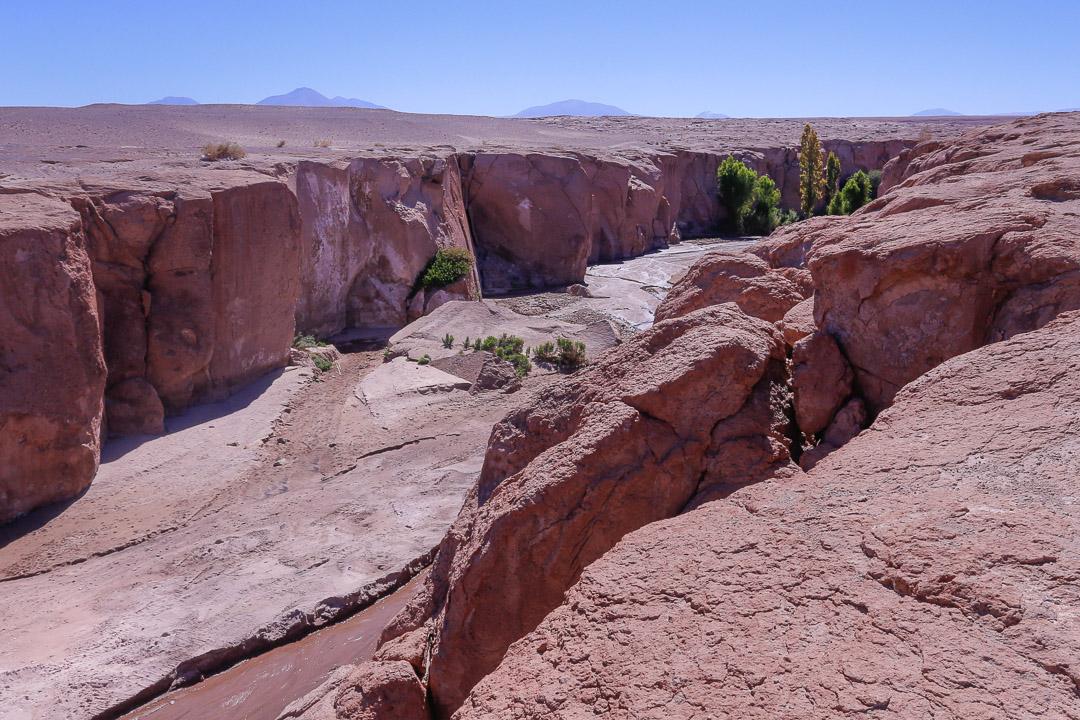 Desert canyon, Toconao, Chile