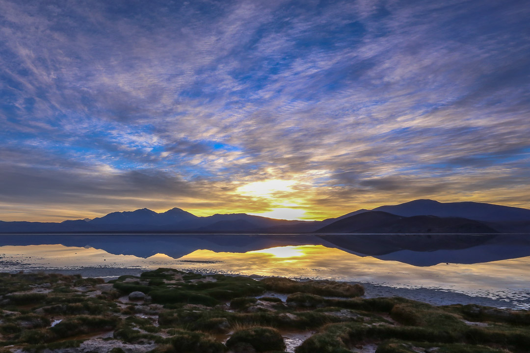 Dawn in Tres Cruces National Park, Chile