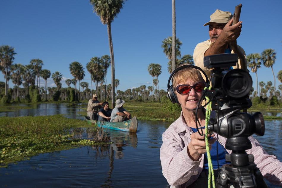 Paula filming-1