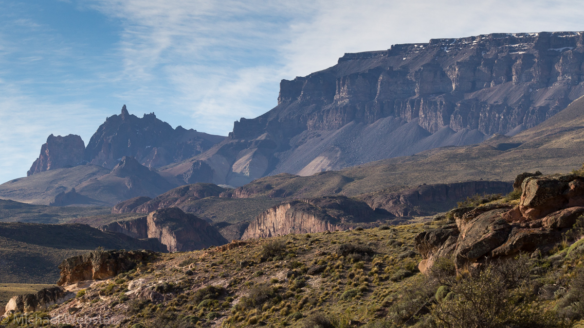 Patagonia South America >> grebeSlideShow-11 Patagonia plateau - Living WILD in South ...